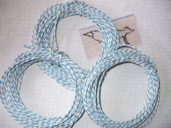 BLUE/WHITE BUTCHERS/BAKERS TWINE 30mts
